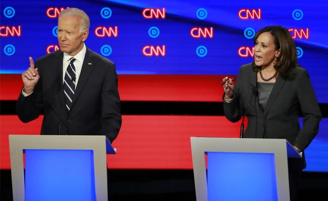 'Go Easy On Me Kid': Joe Biden, Rivals Temper Tone At Democratic Debate