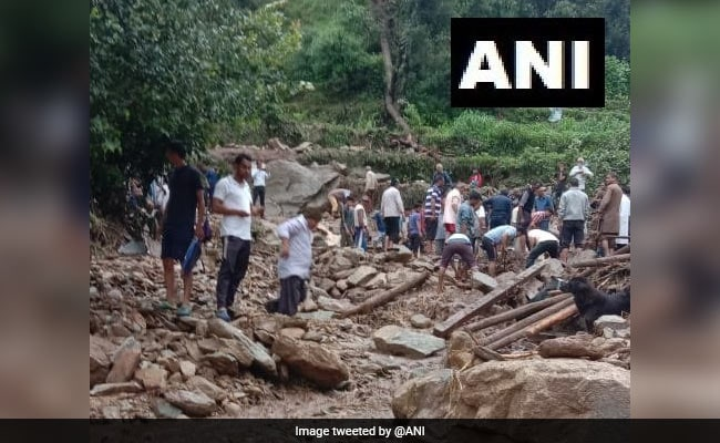 Mother-Daughter Swept Away By Flood Waters In Chamoli