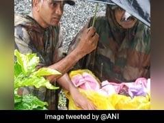 Army Rescues Newborn In Kerala's Worst Flood-Hit Wayanad