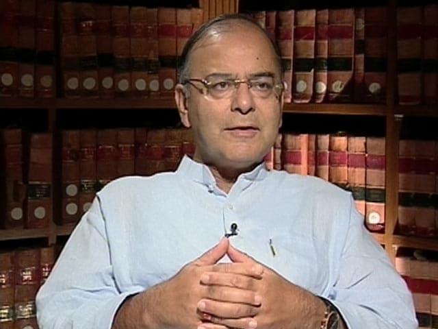 Video : NDTV के आर्काइव से: अरुण जेटली के साथ खास बातचीत  (Aired: August 2013)