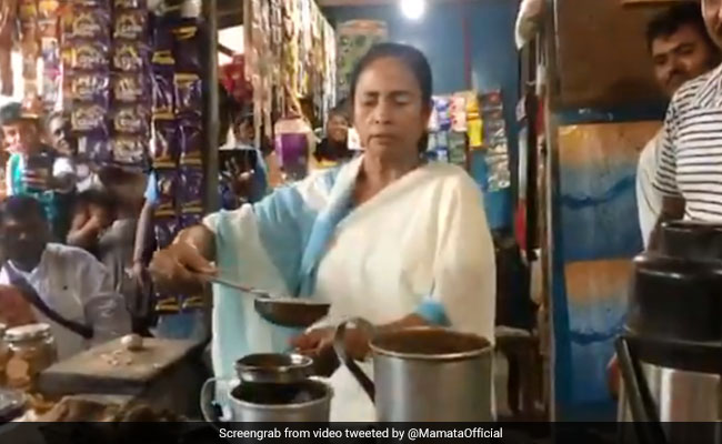 Mamata Banerjee's Tea Break During Bengal Village Visit Is A Toast Online