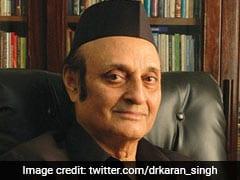 कर्ण सिंह ने कश्मीर में राजनीतिक वार्ता फिर से शुरू करने का आह्वान किया