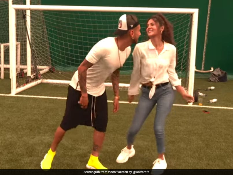 "Watch: Argentine Footballer Dances To ""Shah Rukh Khan"