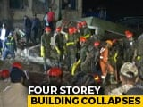 Video : 2 Dead As 4-Storey Building Collapses In Maharashtra, Many Feared Trapped