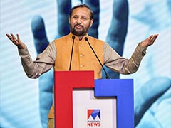 """Fake News Exposed"": Prakash Javadekar Attacks Media On Kashmir Coverage"