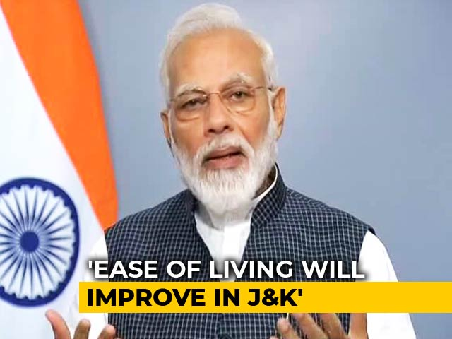 Video : Jammu And Kashmir Never Benefited From Country's Laws, Says PM Modi