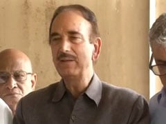 """5-Star Culture"": Ghulam Nabi Azad On Why Congress Loses Polls"