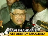 "Video: ""Shattered"": Ravi Shankar Prasad Condoles Sushma Swaraj's Death"