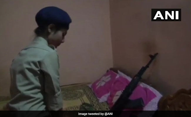 Woman Ties Rakhi On Rifle Of Constable Brother Killed By Maoists