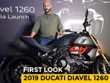 Video : 2019 Ducati Diavel 1260 First Look