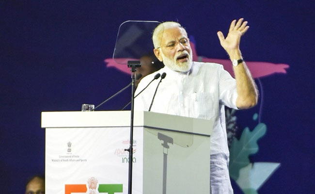 """No Elevator To Success, Have To Take Stairs"": PM At Fit India Movement"