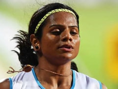 Dutee Chand Practicing At Night To Prepare For World Athletics Championships In Doha