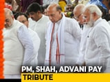 Video : PM Modi, LK Advani Share Emotional Moment At Sushma Swaraj's Funeral