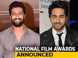 Video : National Film Awards: Vicky Kaushal, Ayushmann Khurrana Share Best Actor