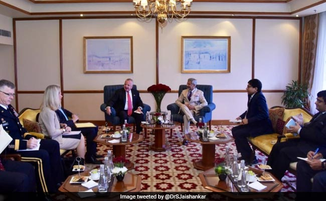 S Jaishankar Holds Talks With US Deputy Secretary John Sullivan