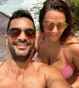 Neha And Angad Are Painting Instagram Red With Mushy Maldives Pics