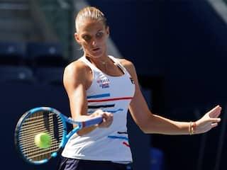 Karolina Pliskova Struggles Through While Kei Nishikori Cruises At US Open