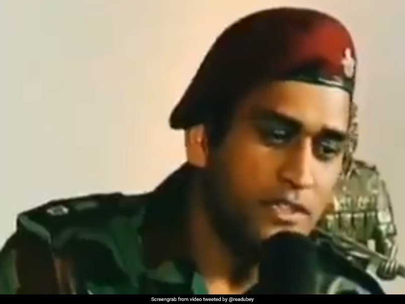 Viral Video Of MS Dhoni Singing Fact Checked: Here