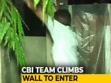 Video : CBI Team Climbs Wall At P Chidambaram's House