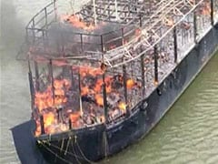 Goa Houseboat Gutted After Fire Breaks Out, Damage Worth Lakhs Caused