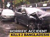 Video : Speeding Jaguar Hits Mercedes In Kolkata, Kills 2 Bangladeshi Bystanders