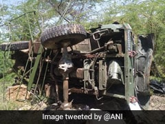 3 Air Force Personnel Killed After Truck Falls Into Gorge In Rajasthan