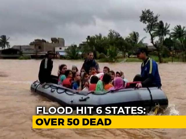Video: Maharashtra, Kerala Worst-Hit In Flood Fury, Lakhs Evacuated