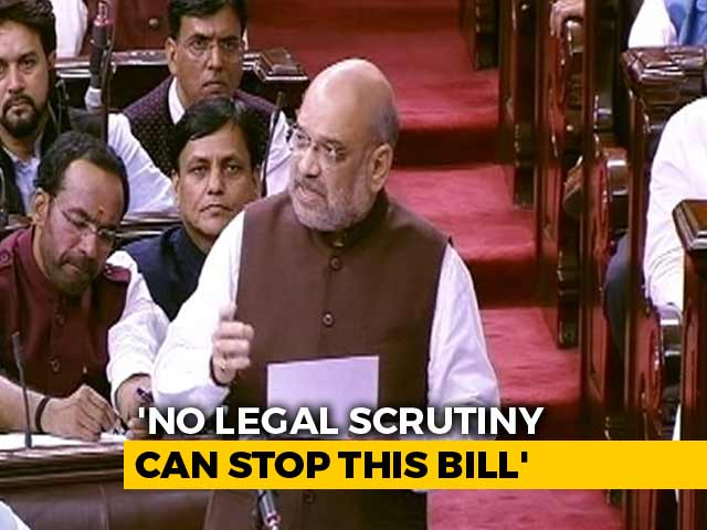 "Video : ""Will Make J&K Most Developed State"": Best Of Debate From Rajya Sabha"