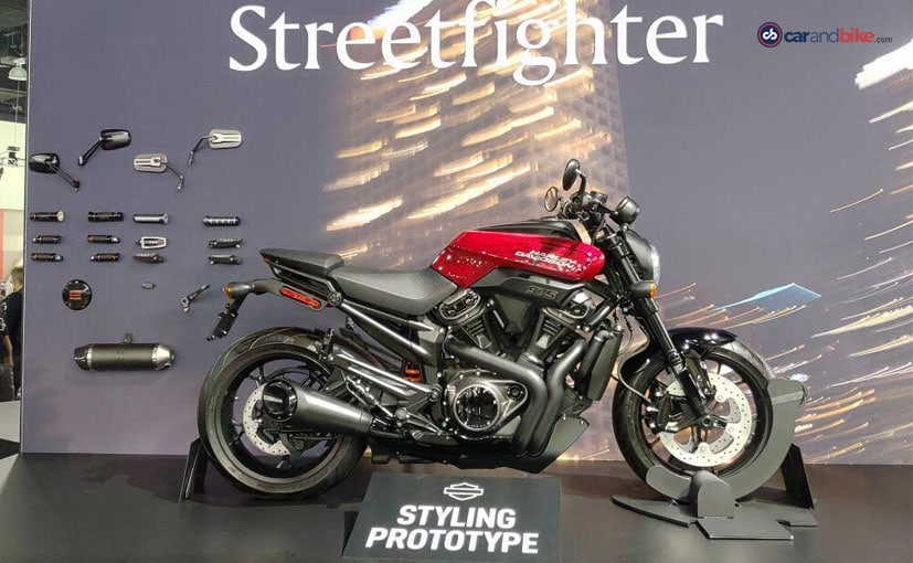 The production-spec Harley-Davidson Streetfighter is likely to be unveiled at EICMA this year