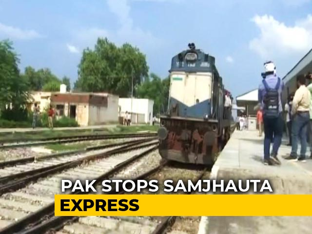 Video : Samjhauta Express Stops At Wagah As Pak Crew Refuses To Go Further