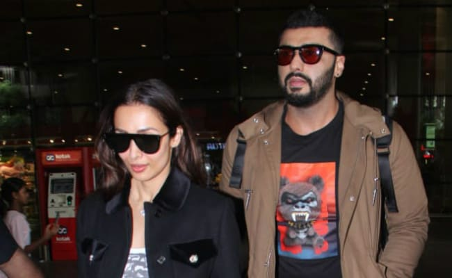 Malaika Arora Lost Her Heart To Arjun Kapoor's Melbourne Pic