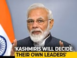 Video : PM Modi's Kashmir Outreach: Better Laws, More Jobs