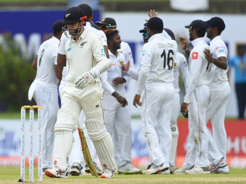 1st Test: Akila Dananjaya Five-Wicket Haul, Ross Taylor Fifty Mark Rain-Hit Day 1