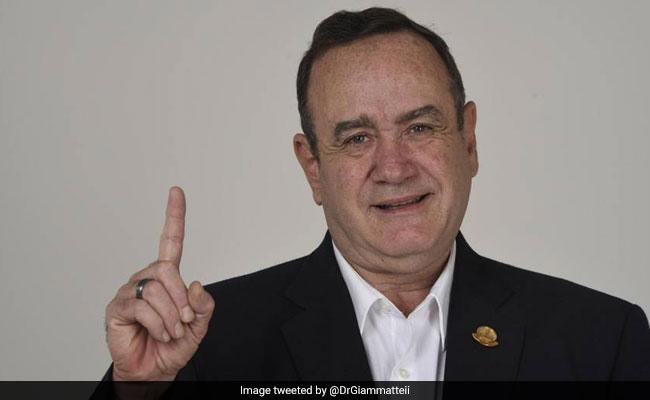 अलेजांद्रो गियामाटेई ने जीता ग्वाटेमाला में राष्ट्रपति चुनाव, बोले - ''लक्ष्य पूरा हुआ''