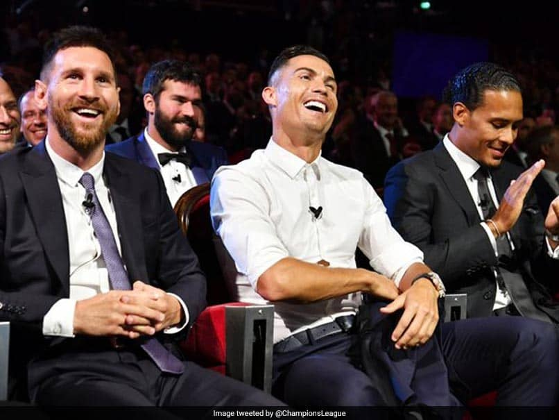 Watch: Lionel Messis Reaction As Cristiano Ronaldo Says He Hopes To Have Dinner With Him