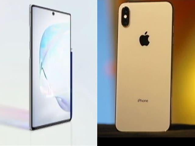Video : Samsung Galaxy Note 10 vs iPhone XS Max