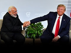 """...All Show-Offs"": Congress Plays Elton John Tune On PM Modi-Trump Event"