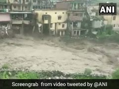 On Camera, Houses Washed Away After Cloudburst In Uttarakhand, 6 Dead