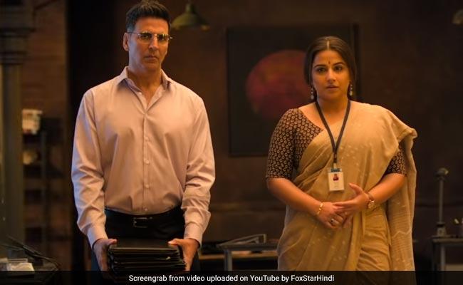 Mission Mangal Trailer 2.0: Akshay Kumar Bows To Vidya Balan For Her Eureka Moments