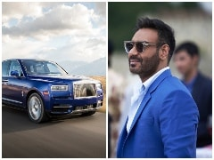 Actor Ajay Devgn's Newest Ride Is The Rolls-Royce Cullinan Worth Rs. 6.95 Crore