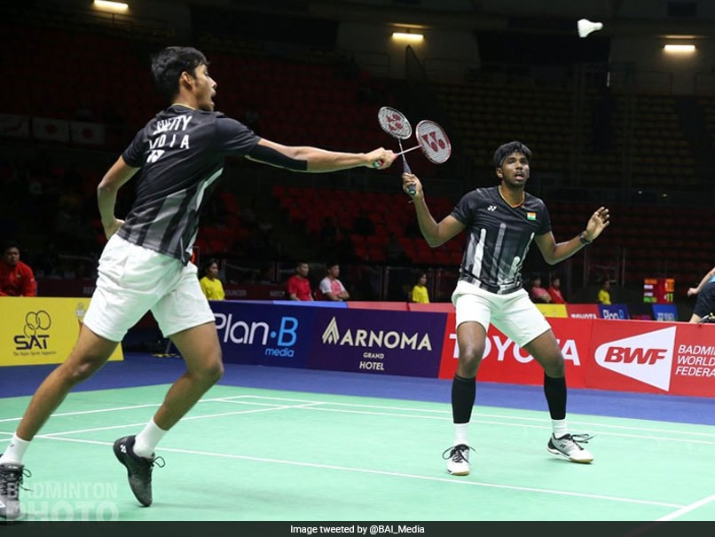 Thailand Open: Satwiksairaj Rankireddy, Chirag Shetty reach men