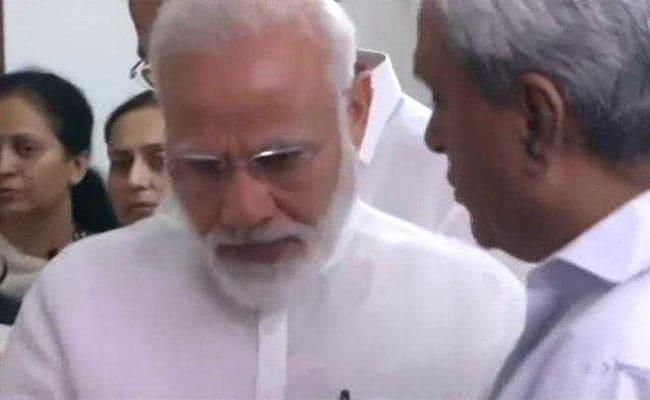 सुषमा स्वराज को श्रद्धांजलि देते हुए नम हुईं PM मोदी की आंखें, देखें VIDEO