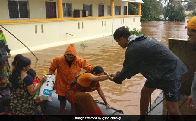 Extending All Help To Flood-Hit Kerala: Navy
