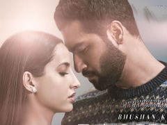 <I>Pachtaoge</I> Poster: Vicky Kaushal And Nora Fatehi Redefine Romance