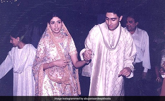 'The Bride Wore White': Priceless Pics From Shweta Bachchan Nanda's Wedding Festivities, Circa 1997