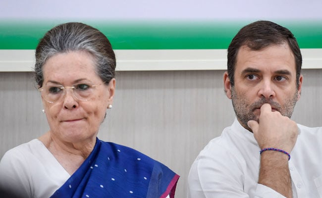 Congress Leaders Letter Row: Continue As Congress President Or ...