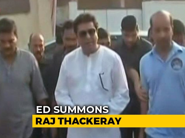 Video : Maharashtra Leader Raj Thackeray Summoned Over Probe Into IL&FS Crisis