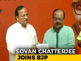 Video : Ex-Kolkata Mayor And Top Mamata Banerjee Aide Sovan Chatterjee Joins BJP