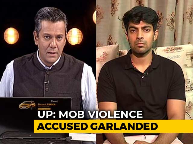"Video : ""The Accused Should Be Behind Bars"": Son Of Police Officer Killed In UP Violence"