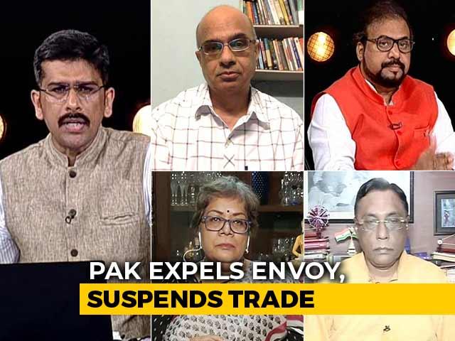 Video : Pakistan Expels Indian Envoy, Downgrades Diplomatic Ties